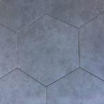 Hexagon Grigio 16 Inch