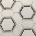 Hexagon Thassos Carrara Bardiglio