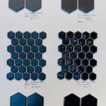 HP2 Hexagon Grey Black Ceramic