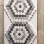 IM Hexagon Mix Thassos Carrara Bardiglio