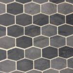 Long Hexagon Bardiglio Polished