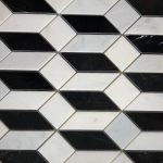 Madison Oriental White Nero Marquina Polished