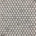 Mini Hexagon Statuario