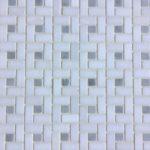 Mini Pinwheel Thassos Carrara Polished