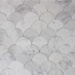 Oriental White 7 Inch Fan