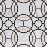 Odyssey Calacatta Saint Laurent Stainless Steel Brass