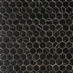 RG 1 Inch Hexagon Nero Marquina