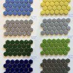 Enamel Glass Colours 1'' Hexagons